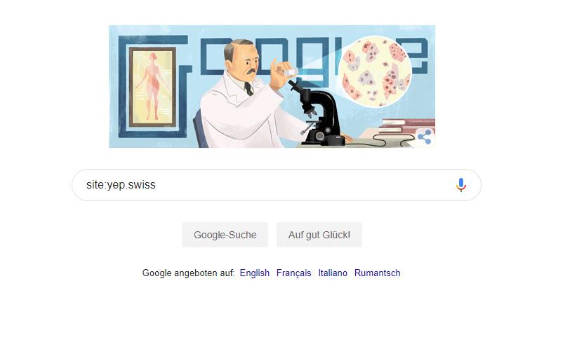 Google Site Abfrage