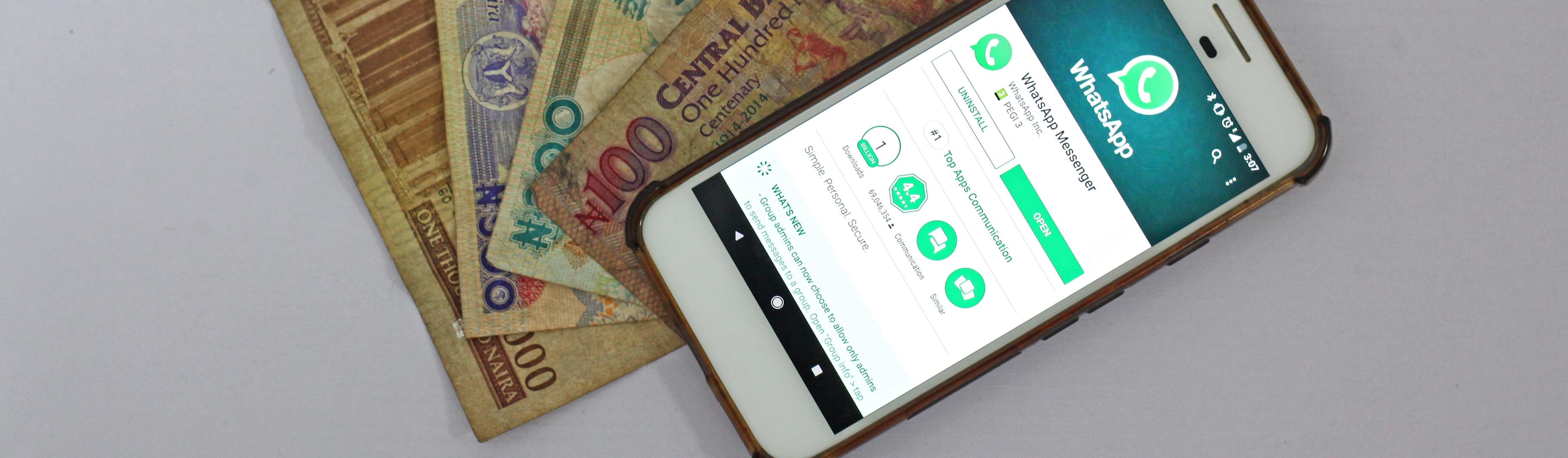 Whatsapp Pay Phone