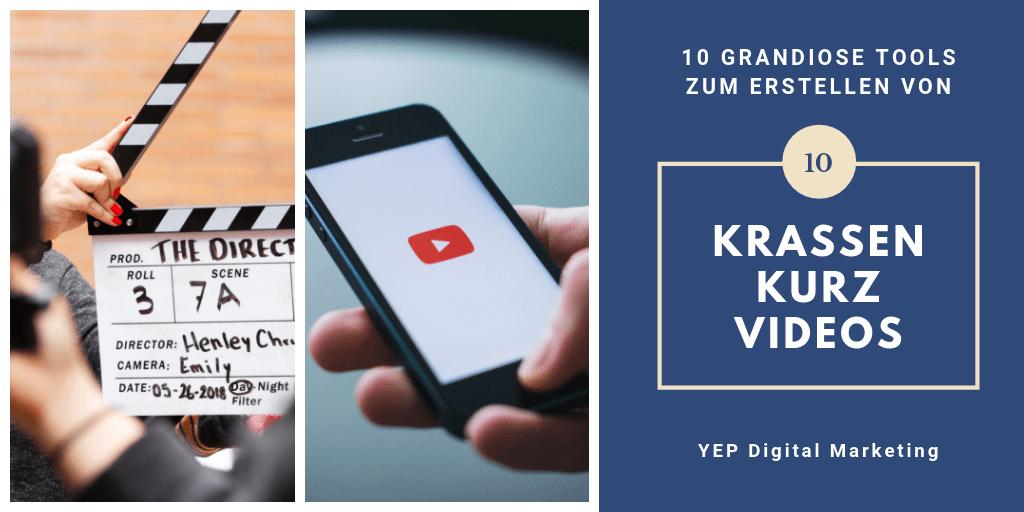 10 grandiose Tools um kurze Videos zu produzieren