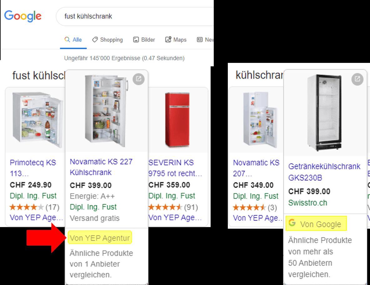 Beispielbild CSS im Google 1