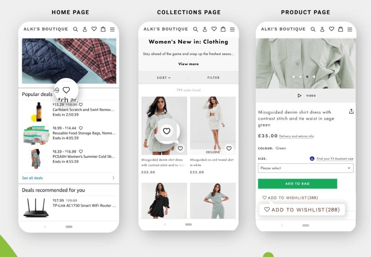Wishlist Plus Shopify
